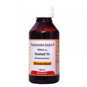 Povishield™ 5% Povidone-Iodine Fast Acting Antiseptic Solution