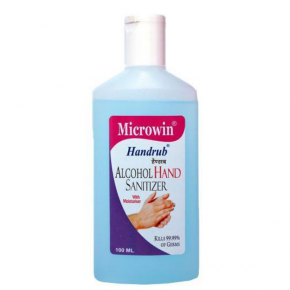 Microwin Handrub 70% Alcohol 100ml pack