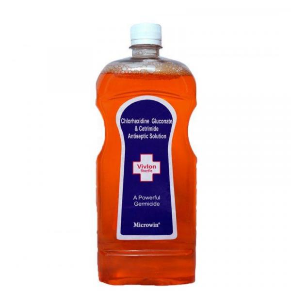 Vivlon Chlorhexidine and Cetrimide Powerful Antiseptic Solution 800x800