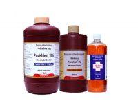 Microwin antiseptic solutions Povishield and Vivlon