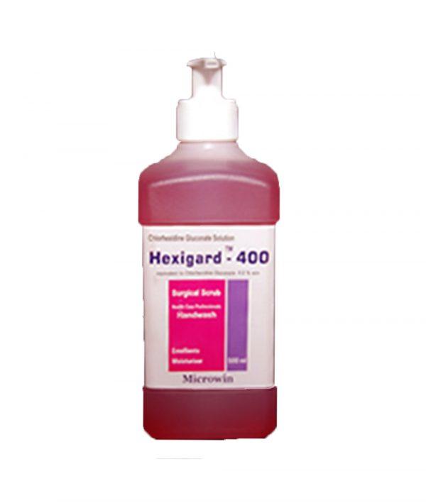 Hexigard™ 400 Chlorhexidine Gluconate Based Handwash and Surgical Scrub 100ml 800x800