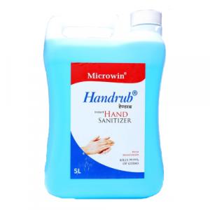 Microwin Handrub 70% Alcohol 5 litre