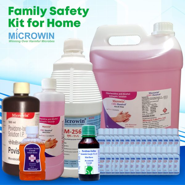 family safety kit showing all products