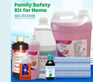 family sanitizer kit