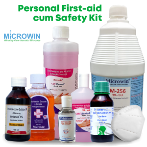 personal first-aid cum safety kit